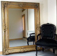 Paris Antique Baroque Rococo Full Length Wall Leaner