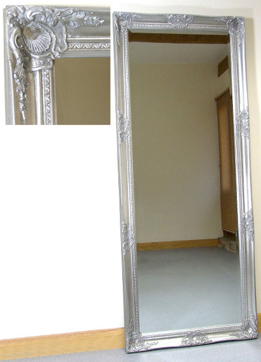 Perfect Kingsbury Large Vintage Ornate Full Length Wall Leaner Mirror  OD47