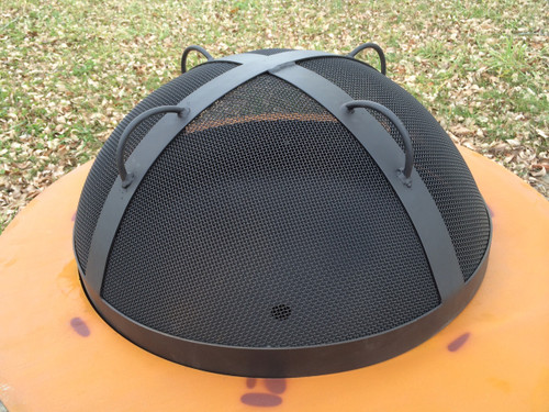 "Artisan Spark Guard - 27.5"" (Fits Saturn fire pit)"