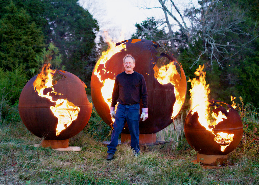 Fire Pit Art® Functional Steel Sculptures