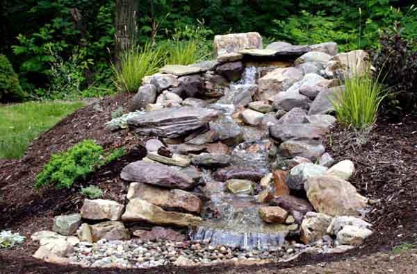 Pondfree waterfall kit