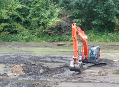 Pond dredging in PA