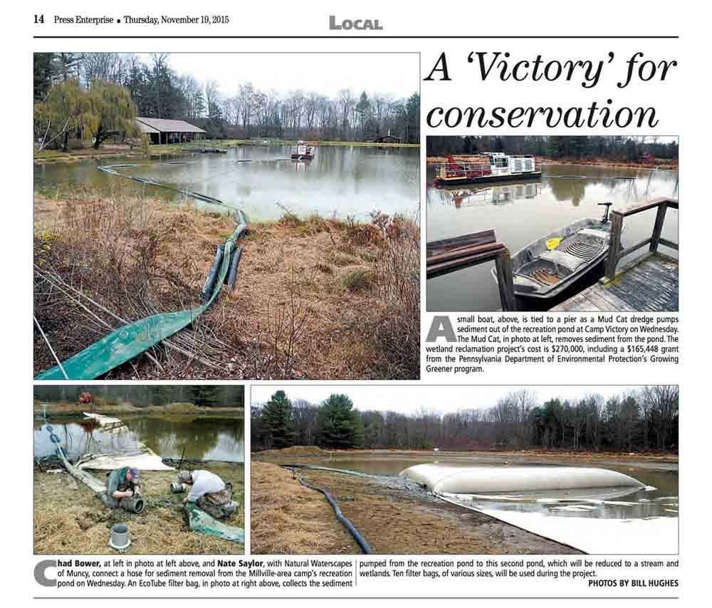 PA wetland restoration