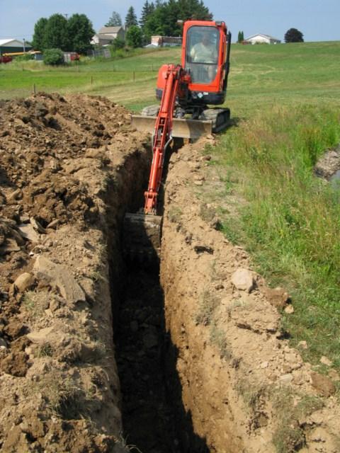 pond leak repairs