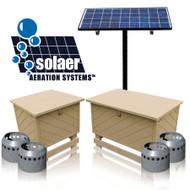 Solar aeration system
