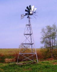 Windmill Aeration System - 20' Tower