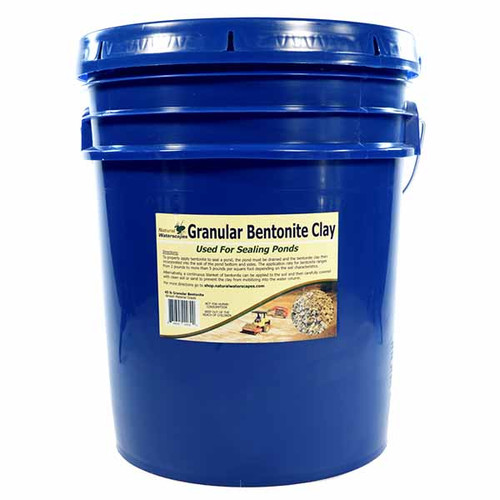 Bentonite Pond Sealing Clay