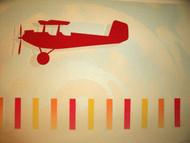 """BRIAN COOK SERIGRAPH PRINT """"AIR CAMPER""""  PENCIL SIGNED COOK  '81"""