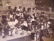 "DAVID WILKIE NYC ""WAITING"" FR TRACK & FIELD/ SOFTBALL PHOTOGRAPHS NYCHA CA 1970"