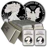 1986-2017 Complete Silver Eagle Set NGC PF69 UCAM