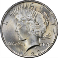 1923-P Peace Silver Dollar Brilliant Uncirculated - BU