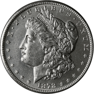 1878-S Morgan Silver Dollar Brilliant Uncirculated - BU