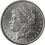 1878-CC Morgan Silver Dollar Brilliant Uncirculated - BU
