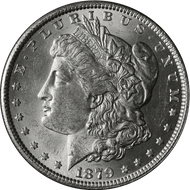 1879-P Morgan Silver Dollar Brilliant Uncirculated - BU