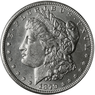 1879-S Morgan Silver Dollar Brilliant Uncirculated - BU