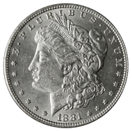 1881-P Morgan Silver Dollar Brilliant Uncirculated - BU