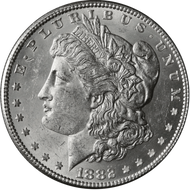 1882-P Morgan Silver Dollar Brilliant Uncirculated - BU