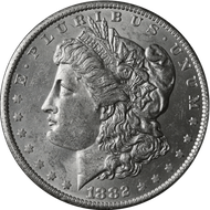 1882-O Morgan Silver Dollar Brilliant Uncirculated - BU