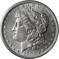 1882-S Morgan Silver Dollar Brilliant Uncirculated - BU