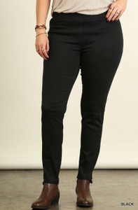 Plus-size Black Leggings