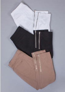 Zipper Crop Pant