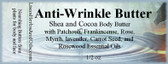 Anti-Wrinkle Butter