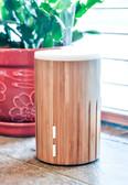 ZAQ Bamboo Lite Mist Aromatherapy Essential Oil Diffuser, Wood, 100ml
