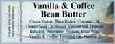 Vanilla & Coffee Bean Butter