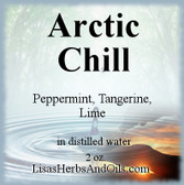 Arctic Chill Essential Oil Spray 2 oz.