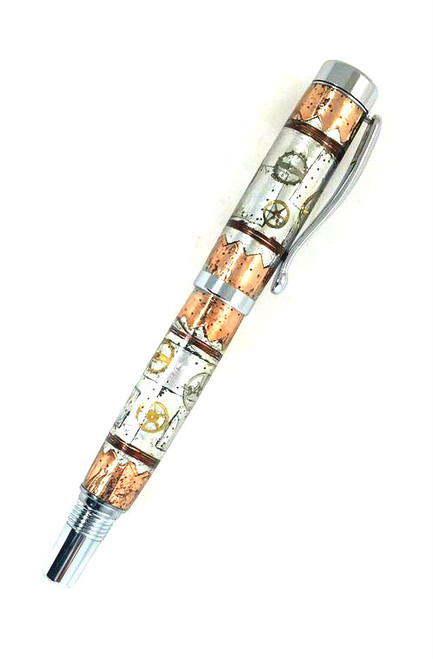 steampunk fountain pen