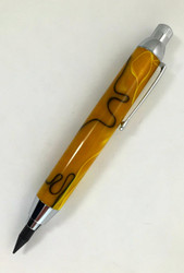Leonardo Sketch Pencil in Golden Yellow with Black