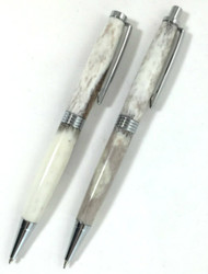 deer antler pen and pencil set