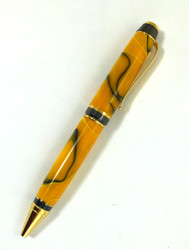 black and yellow pen