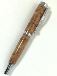 wood burl fountain pen