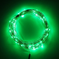 TDLTEK Starry String Lights + Power Adapter -- 33ft 100Led Cool White Flexible Wire For Outdoor, Gardens, Homes, Christmas Party, Wedding (Green)