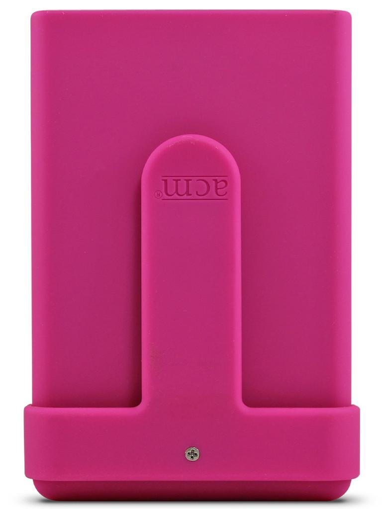 Backside of the Hot Pink ACM®.