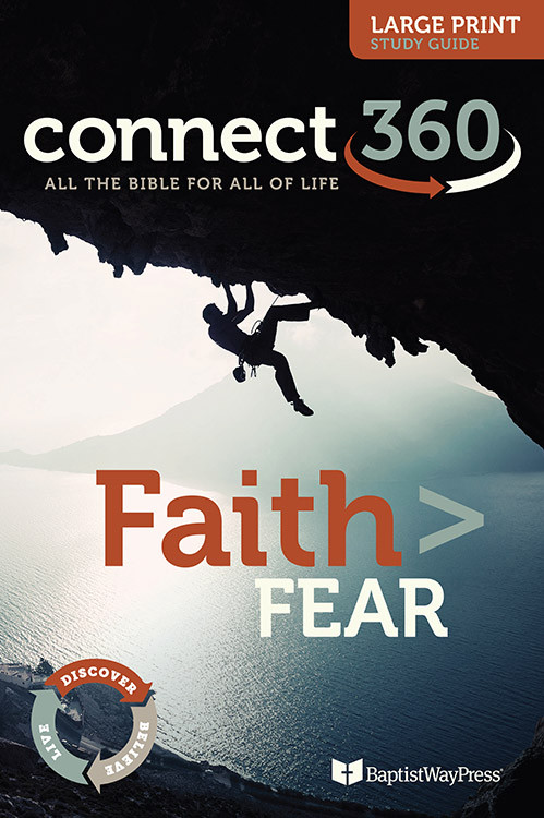 This large print Bible study guide will lead Christ-followers to cast off the shackles of fear and to take hold of their faith. 13 Lessons.