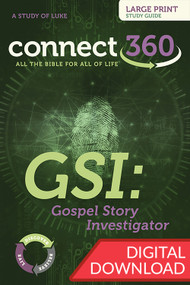 GSI: Gospel Story Investigator (Luke) - Digital Large Print Study Guide