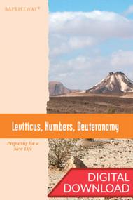 Leviticus, Numbers, Deuteronomy - Premium Teaching Plans