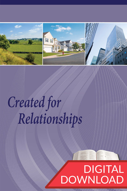 Digital teaching plans to teach a Bible study on 13 different kinds of relationships people have with others.