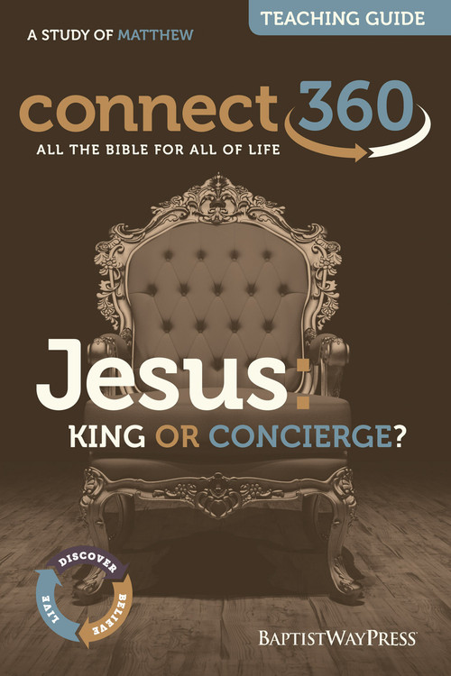 Teaching guide on Matthew that will equip bible study leaders with commentary and teaching plans to lead a 13 lessons series on whether Jesus is a King or a Concierge? PDF; 172 pages.