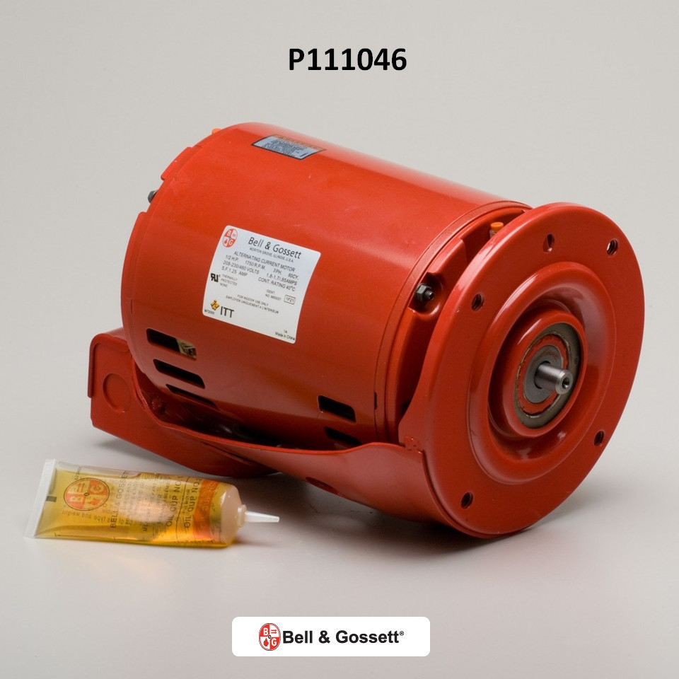 Bell gossett 111046 motor 1 2hp free shipping for Bell gossett motors