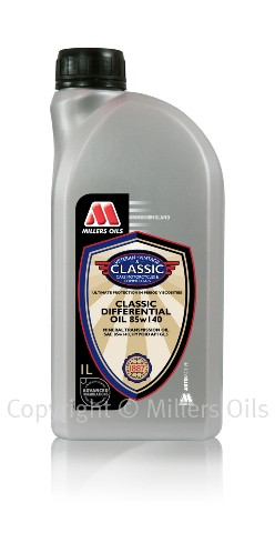 High level of performance additive in solvent refined base oil.  Use in Hypoid differentials requiring extreme pressure lubricants and GL5 specification.
