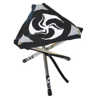 The original Huk Sit black with white TriFly print