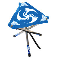 The original Huk Sit blue with white TriFly print