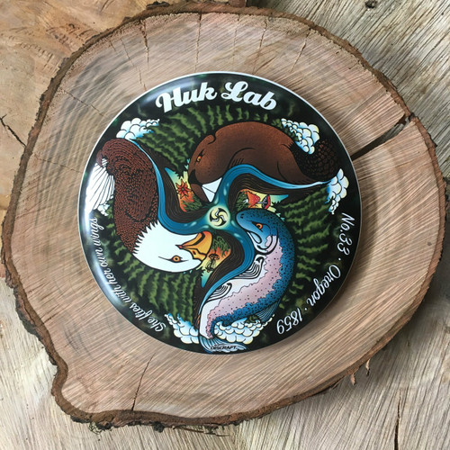 Discraft Super Color Buzzz with Huk Lab No. 33 Oregon art