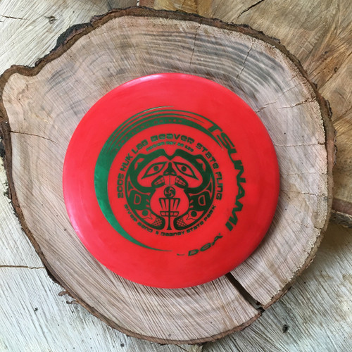 DGA Pro Line Tsunami with a 2005 Huk Lab Beaver State Fling stamp