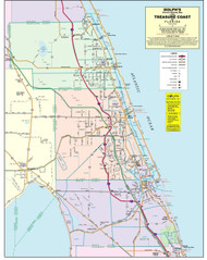 3 County Treasure Coast General Highway Color Without Zip Codes