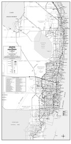 3 County Gold Coast General Highway B&W Without Zip Codes