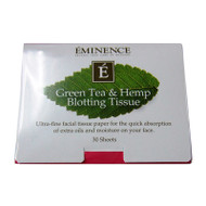 Green Tea & Hemp Blotting Tissue (30 sheets)